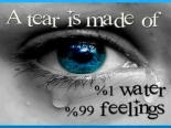Tear is made up of.