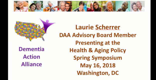 Dementia Action Alliance Health and Aging