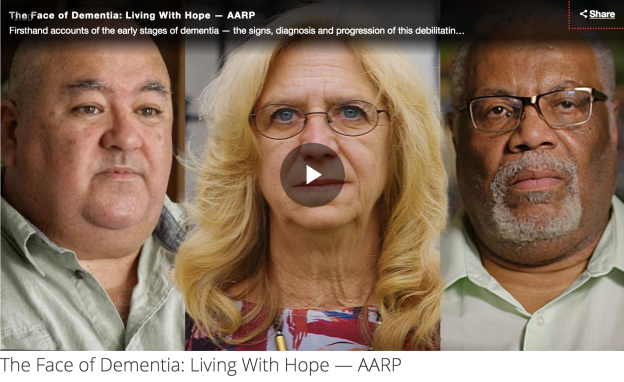 Face of Dementia Living with Hope Play Video